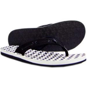 CR8 S1 Nautical Sandals Black/White/Check クリエイティブレクリエーション ノーティカル サンダル ブラック/ホワイト/チェック|cio