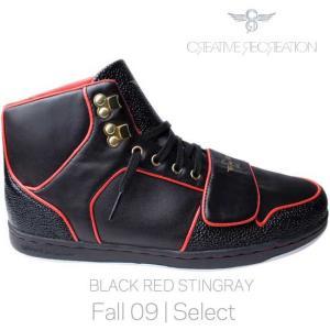 【SALE】クリエイティブ レクリエーション セサリオ セレクト ブラック/レッド スティングレイ Creatieve Recreation CR8 CESARIO Select Black/Red Stingray|cio