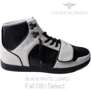 【SALE】クリエイティブ レクリエーション セサリオ セレクト ブラック/ホワイト リザード Creatieve Recreation CR8 CESARIO Select Black/White Lizard|cio