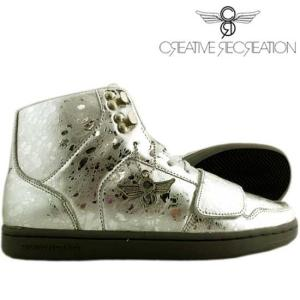 【SALE】クリエイティブ レクリエーション セサリオ セレクト ぺブレッド メタリック シルバー ストーン Creatieve Recreation CESARIO Select|cio