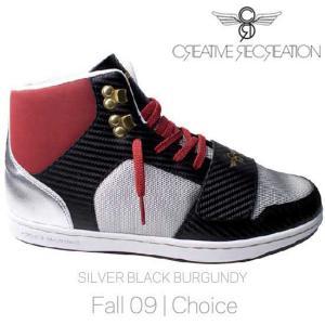 【SALE】クリエイティブ レクリエーション セサリオ チョイス シルバー/ブラック/バーガンディー Creatieve Recreation CR8 CR439 CESARIO Choice|cio