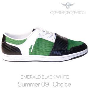 【SALE】Creative Recreation CR4Lo29 CESARIO LO Choice Emerald/Black クリエイティブレクリエーション セサリオ ロー チョイス エメラルド/ブラック/ホワイト|cio