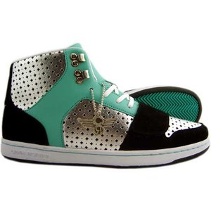【SALE】Creative Recreation CR419 Cesario Choice Black Metallic Silver Aqua セサリオ チョイス ブラック/メタリックシルバー/アクア|cio