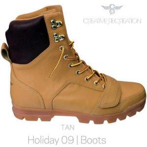 【SALE】クリエイティブ レクリエーション ディオ ブーツ タン Creative Recreation CR8 BCR449 DIO Boots Tan|cio