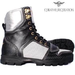 【SALE】クリエイティブレクリエーション BCR449 ディオ ブラック シルバー Creative Recreation CR8 BCR449 DIO Boots Black/Silver|cio