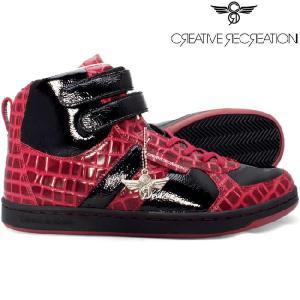 【SALE】クリエイティブ レクリエーション ディココ セレクト ブラック レッド Creative Recreation DICOCO Select Black Red|cio