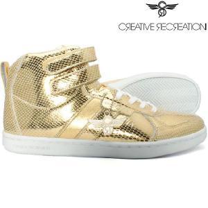【SALE】クリエイティブレクリエーション ディココ セレクト メタリックゴールド Creative Recreation Dicoco Select Metallic Gold|cio
