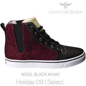 【SALE】クリエイティブ レクリエーション ポンティ セレクト ウール/ブラック/カーキ CR8 CR7649 PONTI Select Wool/Black/Khaki|cio