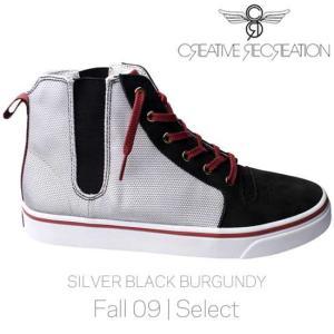 【SALE】クリエイティブ レクリエーション ポンティ セレクト シルバー/ブラック/バーガンディー CR8 CR7639 PONTI Select Silver/Black/Burgundy|cio