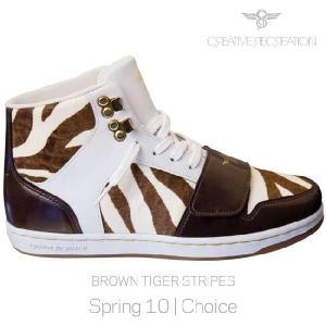 【SALE】クリエイティブ レクリエーション セサリオ ウィーメンズ ブラウン タイガーストライプス CR8 WCR410 CESARIO WOMENS Brown Tiger Stripes|cio