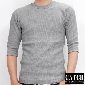 キャッチ サーマル ハーフスリーブ Tシャツ グレー CATCH THERMAL HALF SLEEVE TEE Gray|cio