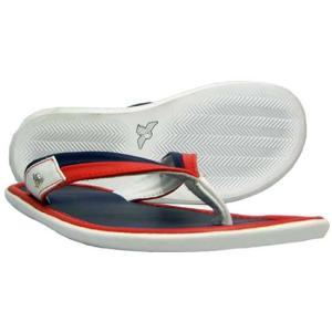 CR8 S3 Cosa Nostra Sandals Navy/Red/White クリエイティブレクリエーション コーザ ノストラ サンダル ネイビー/レッド&ホワイト|cio