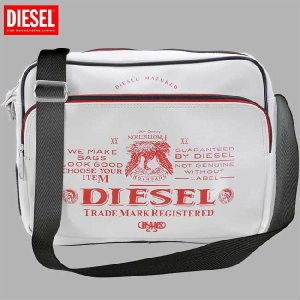 【SALE】ディーゼル ショルダーバッグ X00022 ホワイト レッド DIESEL Shoulder Bag X00022 White Red cio