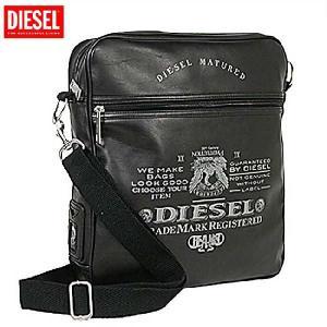 【SALE】ディーゼル ショルダーバッグ X00019 ブラック DIESEL Shoulder Bag X00019 Black cio