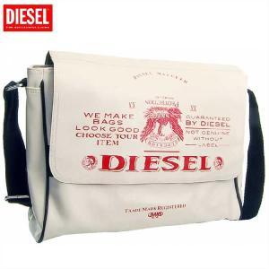 【68%OFF】【SALE】ディーゼル ショルダーバッグ X00023 ホワイト レッド DIESEL Shoulder Bag X00023  White Red cio