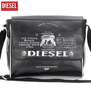 【SALE】ディーゼル ショルダーバッグ X00023 ブラック DIESEL Shoulder Bag X00023 Black cio