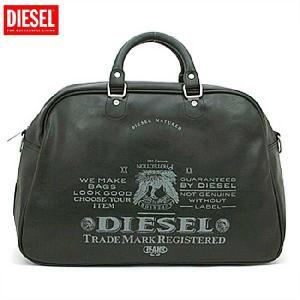 ディーゼル ボストン バッグ X00020 ブラック DIESEL Boston bag X00020 Black cio