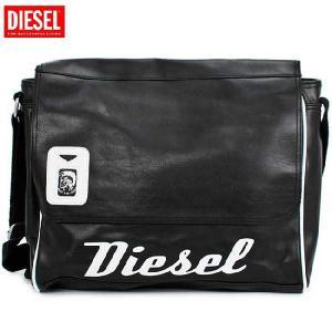 ディーゼル ショルダーバッグ 00XT63 ブラック ホワイト DIESEL Shoulder Bag 00XT63 Black White cio