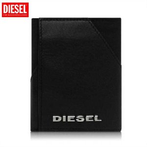 ディーゼル 三つ折り財布 00XS43 ブラック DIESEL Three case Wallet 00XS43  Black cio