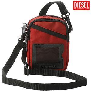 ディーゼル ミニショルダーポーチ X00102 レッド Diesel Mini Shoulder Porch X00102 Red|cio
