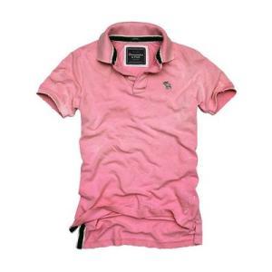 アバクロンビーアンドフィッチ(アバクロ) ディア ブルック S/S ポロシャツ ピンク Abercrombie & Fitch Deer Brook Polo 3001H S/S POLO|cio