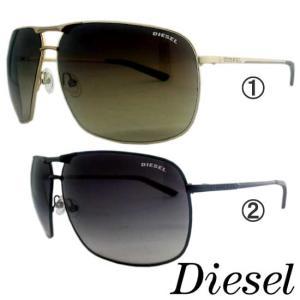ディーゼル サングラス 1.ゴールド 2.ブラック DIESEL Sunglasses 1. Gold 2.Black|cio