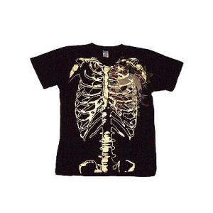 【SALE】Ed Hardy Mens Skelton S/S Tee Skull Head of Rosse Black エドハーディー メンズ スケルトン S/S Tシャツ スカルハードオブローズ ブラック|cio
