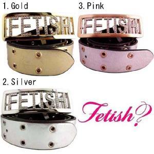 フェティッシュ ベルト ラインストーン 1,ゴールド 2,シルバー 3,ピンク FETISH Belt Line Stone 1,Gold 2,Silver 3,Pink|cio