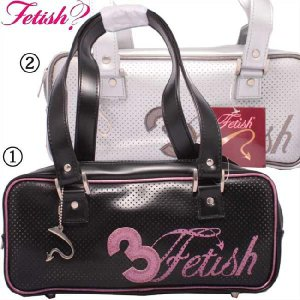 フェティッシュ レディース バッグ ミニ ボストン 1.ブラック ピンク 2.シルバー ブロンズ #3 ETISH Ladies' bag Mini Boston|cio