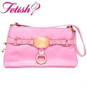 フェティッシュ レディース バッグ FH161WE スモール トップ ジップ ピンク FETISH Ladies' bag FH161WE Small Top Zip|cio