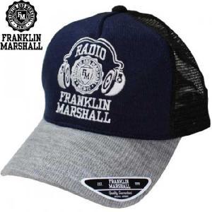 フランクリンアンドマーシャル メッシュ キャップ 1008055 ブラック FRANKLIN&MARSHALL MESH CAP 1008055 BLACK|cio