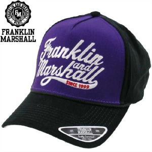 フランクリンアンドマーシャル キャップ 1008047 ブラック FRANKLIN&MARSHALL CAP 1008047 BLACK|cio