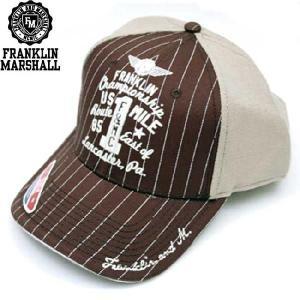 フランクリンアンドマーシャル キャップ 55025 チョコレート FRANKLIN&MARSHALL CAP 55025 CHOCOLATE|cio
