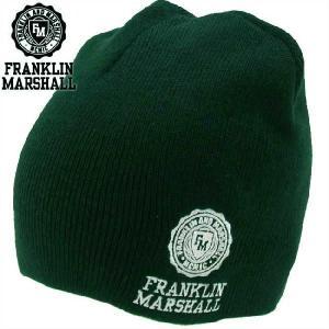 フランクリンアンドマーシャル ニットキャップ 1008049 フェアウェイ FRANKLIN&MARSHALL Knit Cap 1008049 FAIRWAY|cio