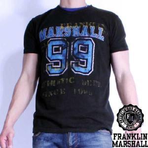 フランクリンアンドマーシャル S/S Tシャツ 50136 ブラック FRANKLIN&MARSHALL S/S Tee 50136 Black|cio