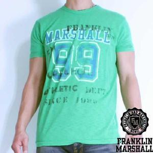 フランクリンアンドマーシャル S/S Tシャツ 50136 ミント FRANKLIN&MARSHALL S/S Tee 50136 Mint|cio