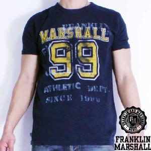 フランクリンアンドマーシャル S/S Tシャツ 50136 ネイビー FRANKLIN&MARSHALL S/S Tee 50136 Navy|cio