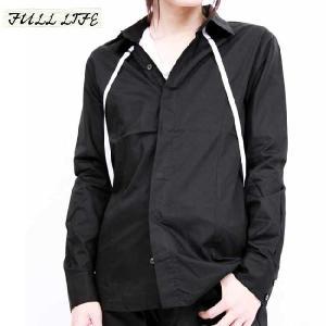 フルライフ サスペンダー シャツ ブラック FULL LIFE Suspenders Shirt Black|cio
