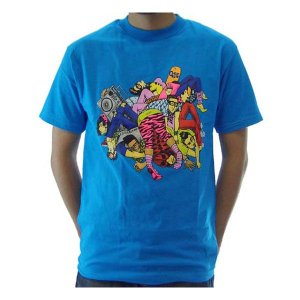 【SALE】GOLIATH Kills S/S TEE Blue ゴライアス キルズ S/S Tシャツ ブルー|cio