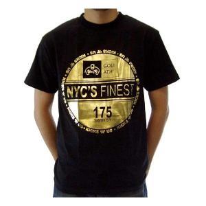 【SALE】GOLIATH NYCS FINEST 175 S/S TEE Black/Gold ゴライアス ニューヨークシティーズ ファイネスト 175 S/S Tシャツ ブラック/ゴールド|cio
