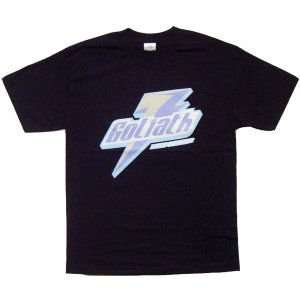 【SALE】GOLIATH KICKS QUENCHER S/S TEE Black ゴライアス キックス クエンチャー S/S Tシャツ ブラック|cio