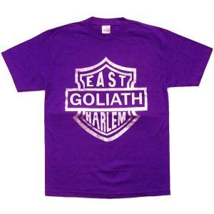 GOLIATH HARLEM MOTORCYCLE CLUB S/S TEE Purple ゴライアス ハーレム モーターサイクル クラブ S/S Tシャツ パープル|cio