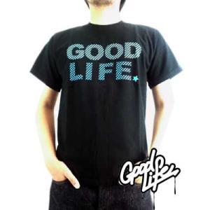 【SALE】Good Life SS TEE Star Graphic Black  グッドライフ S/S Tシャツ スターグラフィック ブラック|cio
