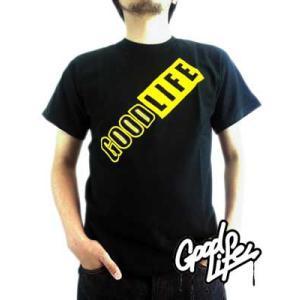 【SALE】Good Life SS TEE Have Fun Black グッドライフ S/S Tシャツ ハブ ファン ブラック|cio