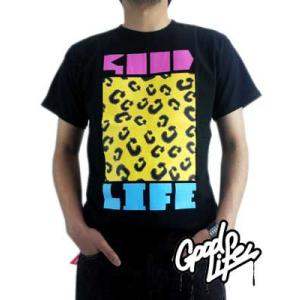 Good Life SS TEE G MARK Black グッドライフ S/S Tシャツ ジーマーク ブラック|cio