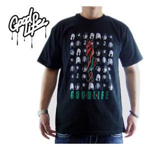 【SALE】Good Life S/S TEE PLAY GIRL TEE Black グッドライフ S/S Tシャツ プレイガール TEE ブラック|cio
