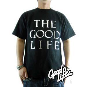 【SALE】Good Life S/S TEE THE GOOD LIFE TEE Black/Silver グッドライフ S/S Tシャツ ザ グッド ライフ TEE ブラック/シルバー|cio