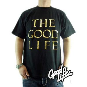 【SALE】Good Life S/S TEE THE GOOD LIFE TEE Black/Gold グッドライフ S/S Tシャツ ザ グッド ライフ TEE ブラック/ゴールド|cio