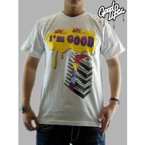 【SALE】Good Life S/S TEE I'm GOOD TEE White グッドライフ S/S Tシャツ アイム グッド TEE ホワイト|cio