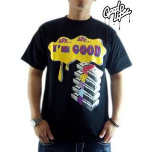 【SALE】Good Life S/S TEE I'm GOOD TEE Black グッドライフ S/S Tシャツ アイム グッド TEE ブラック|cio